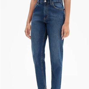 Gap High Rise Mom Blue Jean Size 8/29